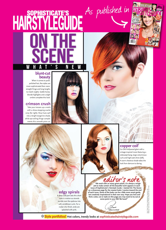 Sophisticates Hairstyle Guide Publicaes Journo Portfolio